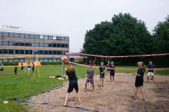 Beachvolleybal clinic Atrium